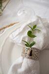 Styling servetten gedekte tafel