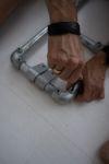DIY sidetable van steigerbuis